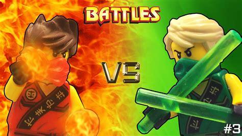Lego Ninjago Vs lego ninjago vs lloyd tournament