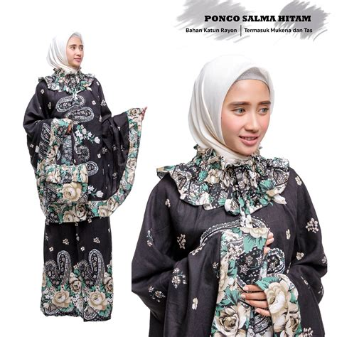 jual 6 model mukena ponco salma model terbaru 2018
