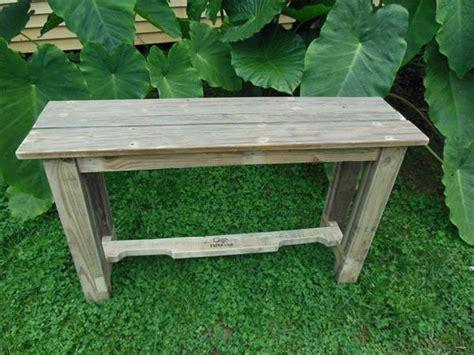 pallet wood console table pallet furniture plans