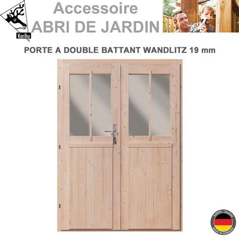 porte abris de jardin porte 19 mm pour abri de jardin bois wandlitz 341