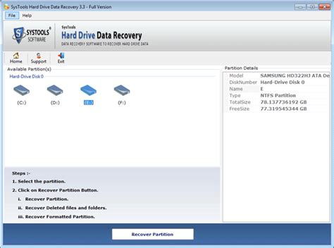 hard disc data recovery software free download full version systools hard drive data recovery screenshot x 64 bit