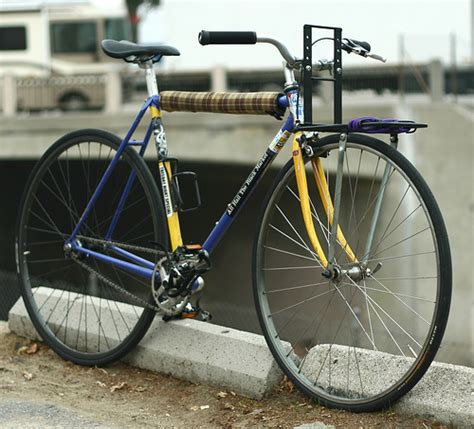 Fixed Gear Front Rack by Beater Fixed Gear With Cetma Rack Flickr Photo