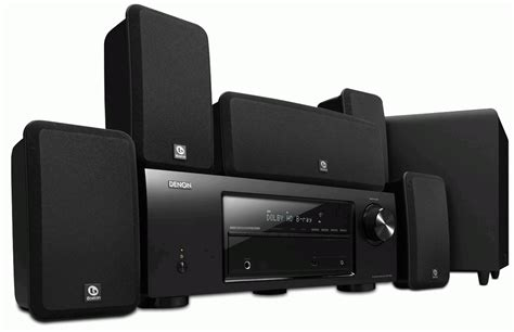 denon dht 1513ba home theater system w boston acoustics