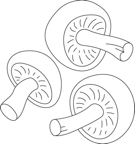 shroom free coloring pages