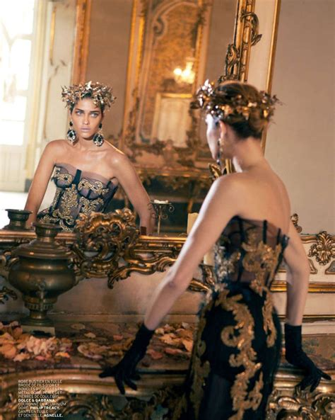 Editorial Dress Of The Month Dolce Gabbana by Dolce Gabbana Fashion History The List