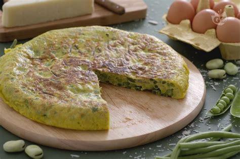 come cucinare le favette fresche ricetta frittata ai piselli fave e fagiolini la ricetta