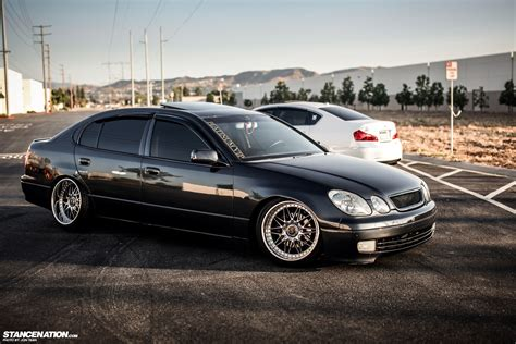 stanced lexus gs400 phantom garage usa inifniti m35 lexus gs300