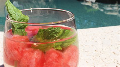 Flat Belly Detox Water With Watermelon by The Reality Of Health And Weight Loss Watermelon Mint