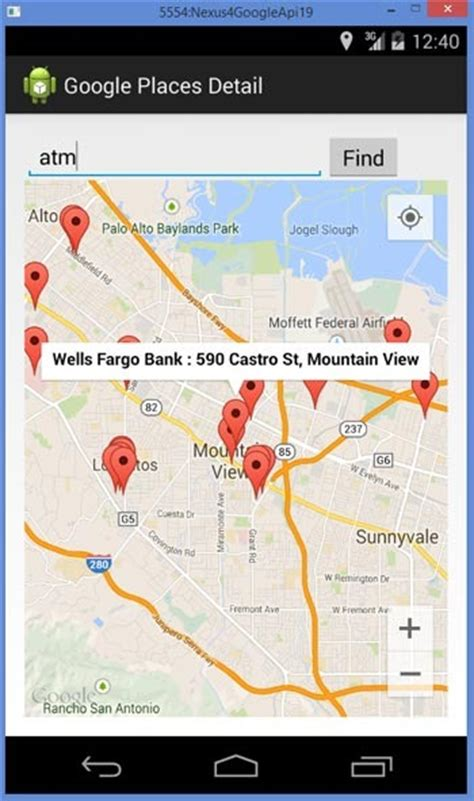Find Nearby Find Places Nearby In Maps Using Places Api Android App Java