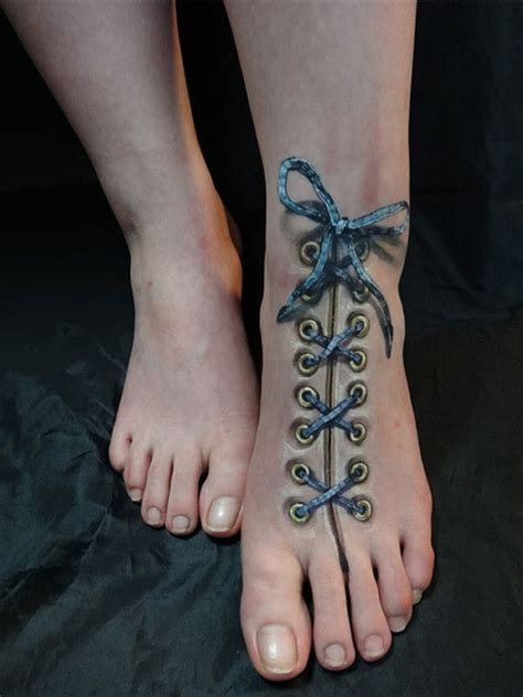 3d Tattoo On Foot | the best and most insane 3d tattoos that will blow your