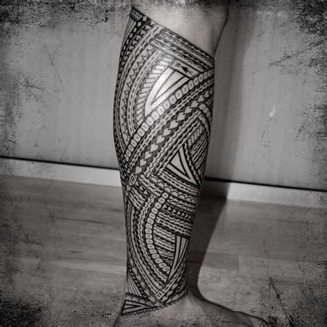 samoan tribal leg tattoos tribal print thigh tattoos machine lg 002 leg tatau