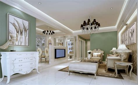 neo classical style four bedroom living room tv background neoclassical living room latest