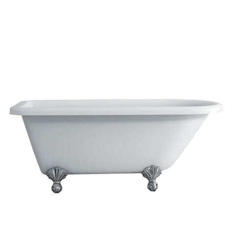 vintage clawfoot bathtub acri tec antique 5 feet 6 inch clawfoot bathtub with