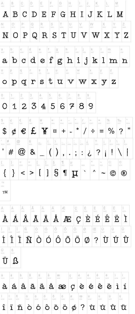 Typewriter Style   dafont.com