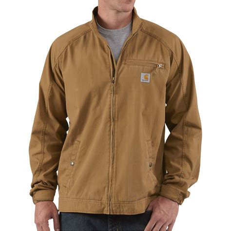 Brown Canvas Jacket product carhartt edlin canvas jacket brown