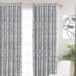 Good Homes Interior silver curtains spread silver hues in the room