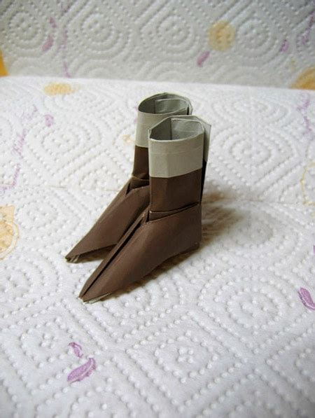 Origami Boot - if you don t these origami shoes then you probably