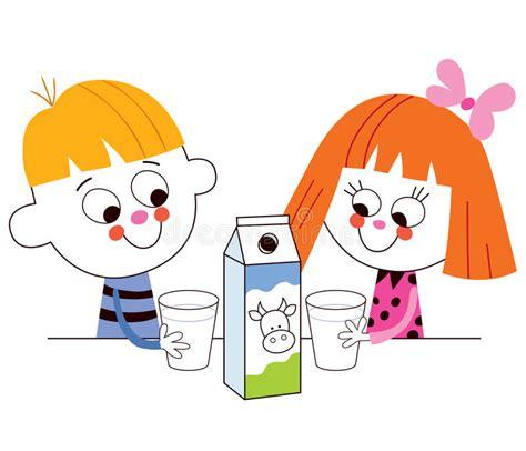 latte alimentare latte alimentare della ragazza e ragazzino immagine