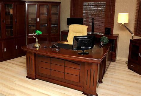 scrivania da studio scrivania direzionale presidenziale per ufficio o studio