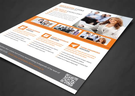 professional business flyer print te flyer templates on