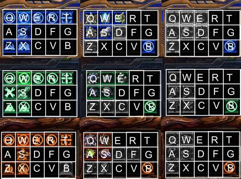 grid layout keyboard gnosesitsof download hotkeys for starcraft 2