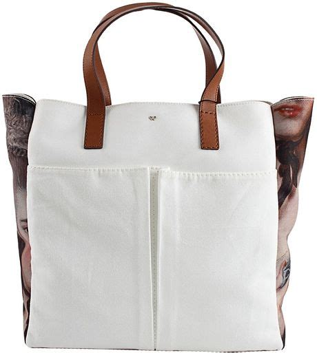 Anya Hindmarch Large Nevis Tote by Anya Hindmarch Nevis Print Canvas Tote In Multicolor