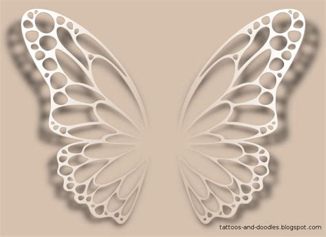 butterfly wings tattoo designs butterfly wings designs