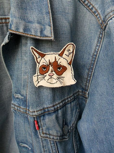 Grumpy Cat Patch 148 best images about patches on embroidered