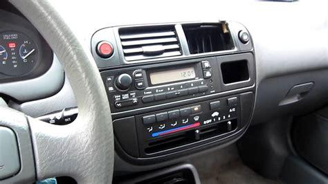 97 Honda Civic Interior by 1997 Honda Civic Lx Automatic Black Stock 13284b