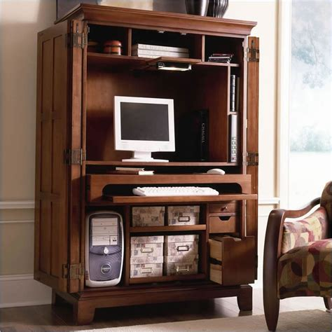 computer armoirs furniture gt office furniture gt armoire gt cherry computer