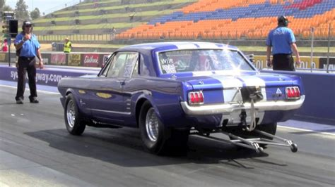 Luftwiderstand Auto by 1966 Blown Ford Mustang Drag Car 11 2012