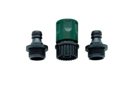 orbit complete garden hose faucet connect set quik
