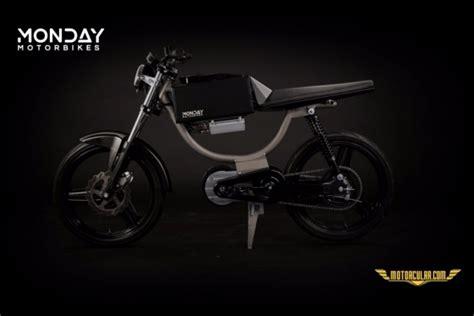 monday motorbikesdan elektrikli  motorcularcom