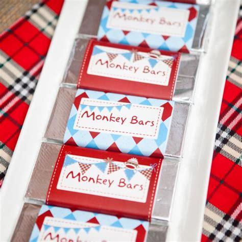 karas party ideas sock monkey themed boy st birthday