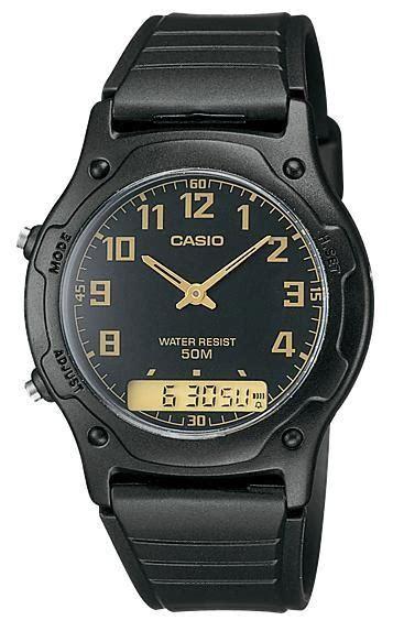Jam Tangan Casio Aw 49h 7e Aw 49h 7e Analog Digital Original jam tangan pria casio aw 49h 1bv pondok jam tangan