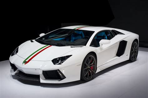 Lamborghini Info Try Not To Drool At The Lamborghini Aventador Nazionale