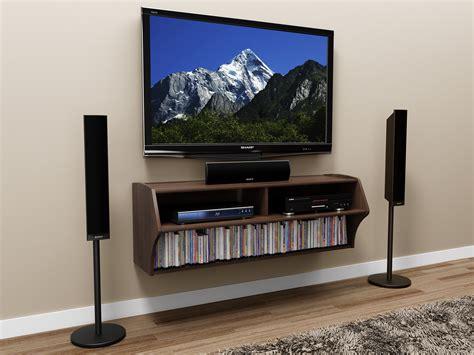 prepac espresso altus wall mounted audiovideo console