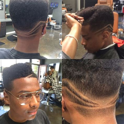 haircut designs in head black men haircuts 10 cool swagger styles curly hair guys