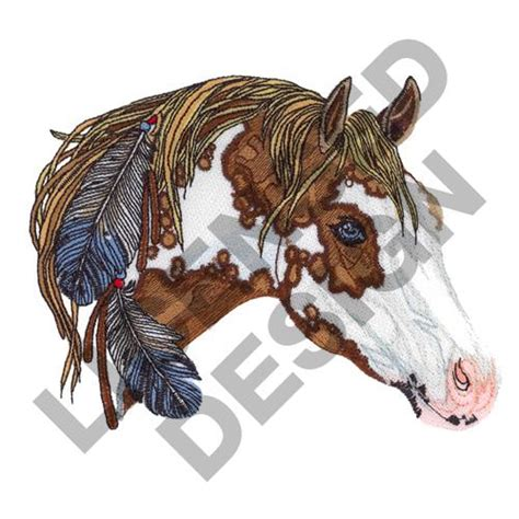 embroidery design horse animals embroidery design paint horse from great notions