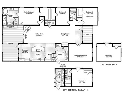 palm harbor mobile home floor plans 32 best manufactured homes images on pinterest floor