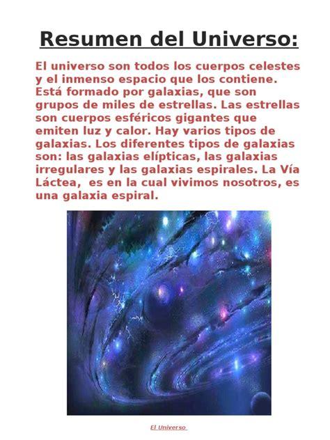libro un universo de la peque 209 o resumen del universo y el sistema solar javi rodr 205 guez 6 186 b