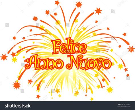 graphic depicting happy new year in stock vector 38735362
