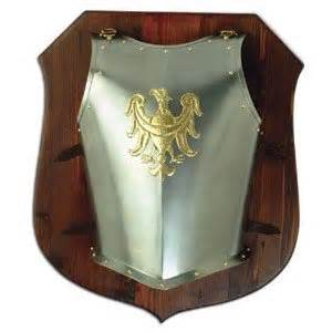 Armor Dresser by 1295 Eagle Chest Armor On Wooden Plate