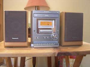 panasonic 5 cd casette shelf stereo system model sa pm 11