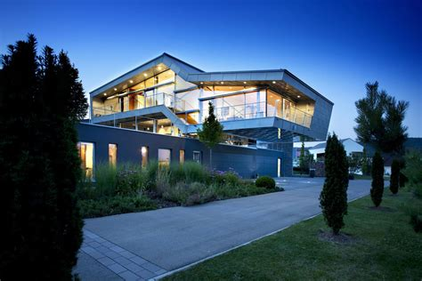 new house technology a high tech modern home in germany