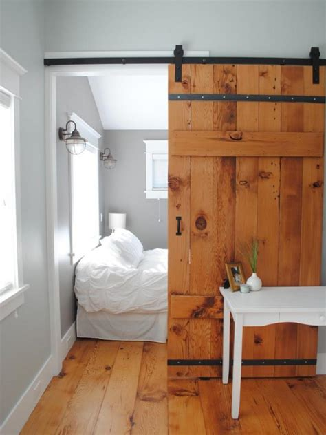 Bedroom Barn Doors Bring Some Country Spirit To Your Home With Interior Barn Doors