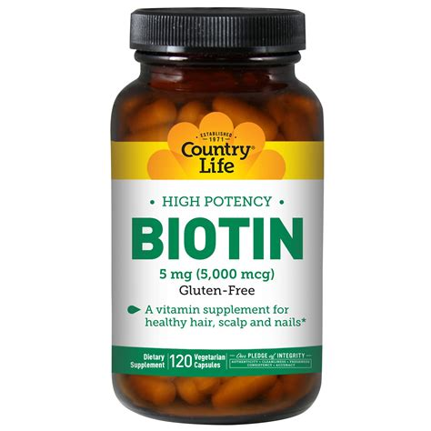 12 natural surprising foods to find biotin 12 maneras naturales de country life biotin high potency 5 mg 120 vegan caps