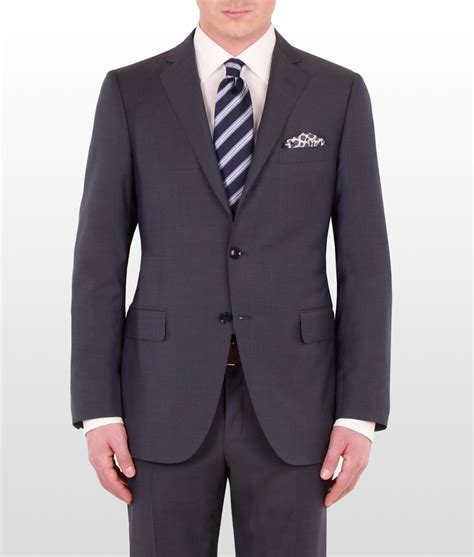 mens warehouse suits brand new tailored made woolen grey