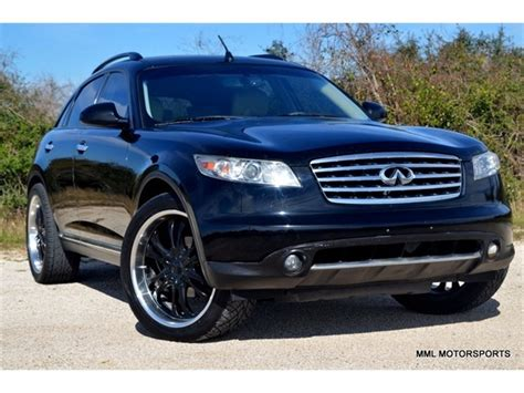 infiniti fx for sale by owner infiniti fx35 2006 cars for sale