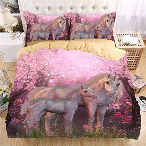 warm   bedding set unicorn bedding print twin queen